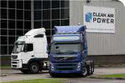Clean Air Power dual-fuel Volvo Truck heavy goods vehicle (HGV) with MotoHawk