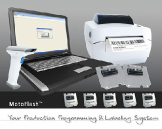 MotoFlash production programming tool